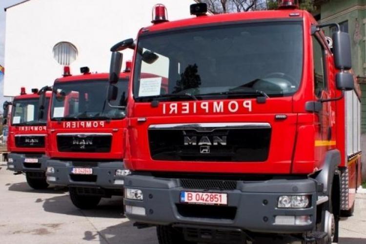 ISU Cluj a primit o autospecială NOUĂ de stins incendii și descarcerare