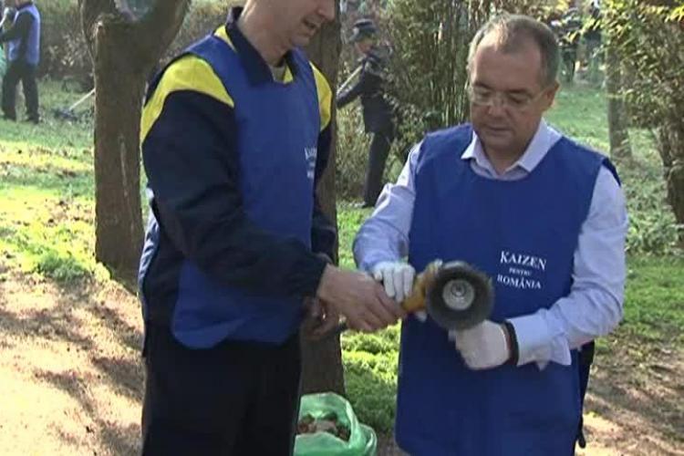 """Boc a suferit un """"accident de muncă"""" în parcul Detunata - VIDEO"""