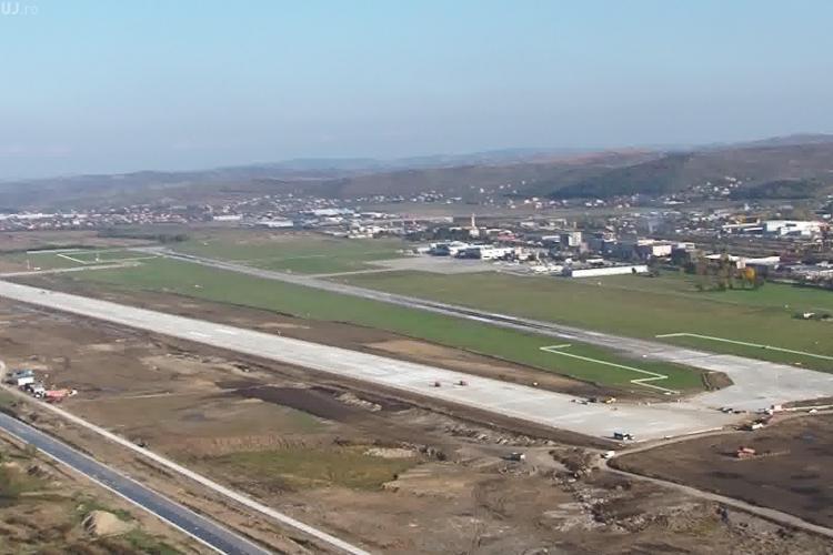 """Proteste la Cluj cu ocazia inaugurării pistei de la Aeroport Internațional """"Avram Iancu"""""""