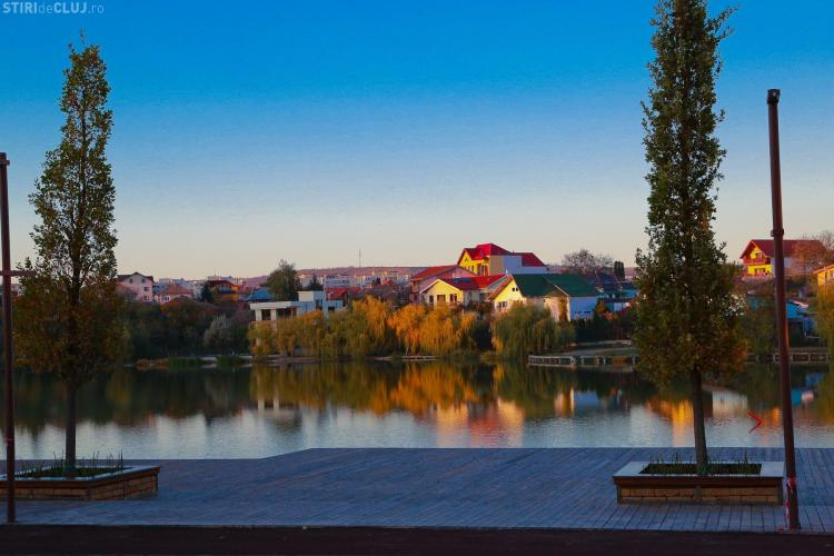 Parcul de pe malul lacului Gheorgheni, PLUSURI și MINUSURI - VEZI imagini NOI cu zona ce va fi inaugurată miercuri - FOTO