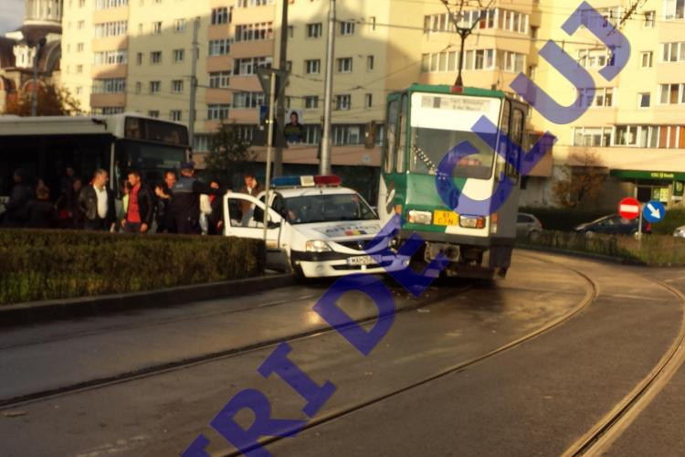 Cum a fost sancționat polițistul care a lovit tramvaiul pe strada Primăverii?