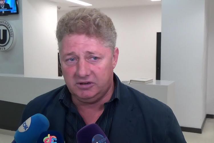Suporterii U Cluj au aruncat cu pietre după Ioan Mărginean, omul lui Walter