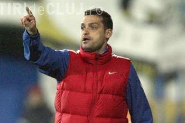 Walter l-a demis pe Gheorghe Barbu de la U Cluj. Cine e noul antrenor?