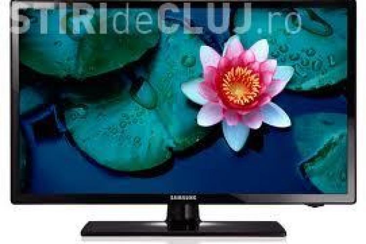 Televizoare Samsung VÂNDUTE la jumătate de preț de Finanțele Publice Cluj. UPDATE: Cine știa PONTUL - EXCLUSIV
