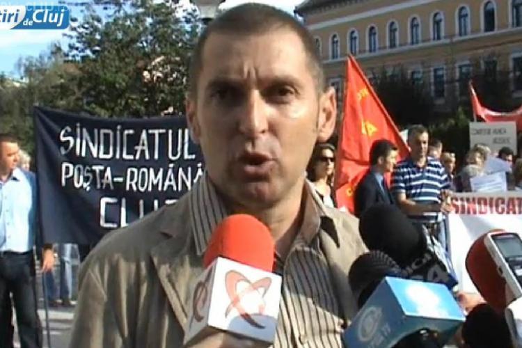 Liderul sindical de la Poșta Cluj HABAR nu are ce se întâmplă în instituție! Cum a ajuns să își ceară scuze de la șeful AJOFM Cluj