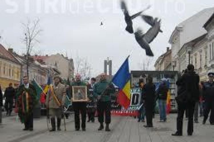 Marș împotriva clasei politice la Cluj