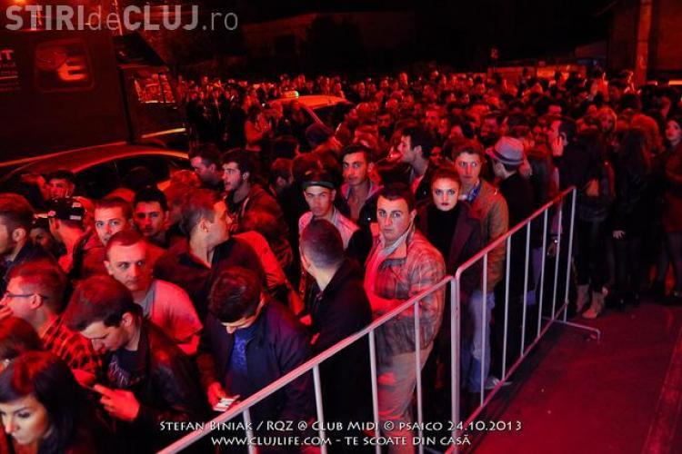 """O """"brută"""" de la firma de pază a clubului MIDI a panicat publicul de la o petrecere - FOTO"""