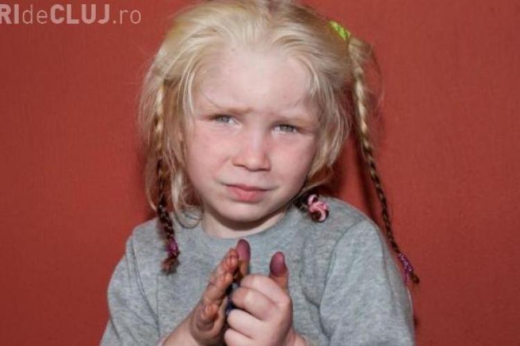 Fetiță găsită într-o tabără de romi. Poveste șocantă - FOTO