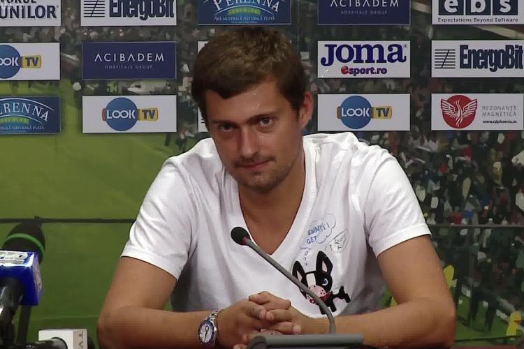 TAMAȘ dat AFARĂ de la CFR Cluj, după beția cu Costea