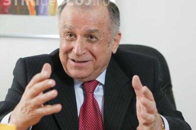 """Iliescu l-a citat pe Eminescu în cazul Roşia Montană: """"Şi când vin cu drum de fier / Toate păsările pier"""""""