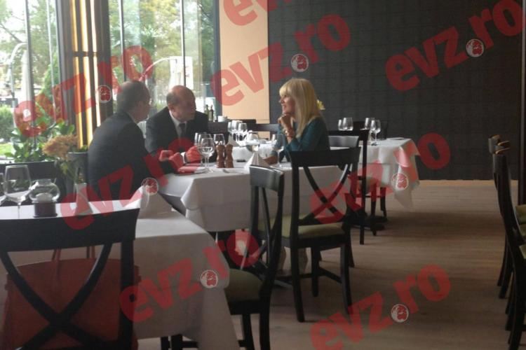 Boc s-a întâlnit cu Băsescu și Udrea la București