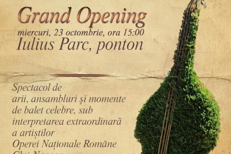 Iulius Parc se inaugurează în 23 octombrie. Clujenii sunt așteptați la concert
