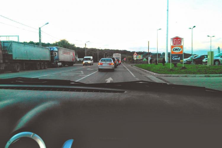 Propunere de fluidizare a traficului la intrarea în Dej dinspre Cluj