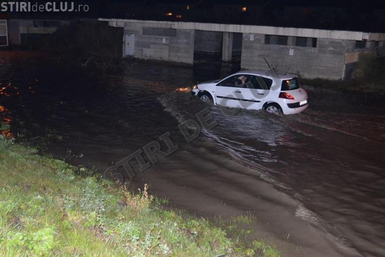 Inundații în Florești, în urma ploii de luni seara! Primarul Șulea către oameni: Voi nu vedeți unde v-ați mutat! - FOTO