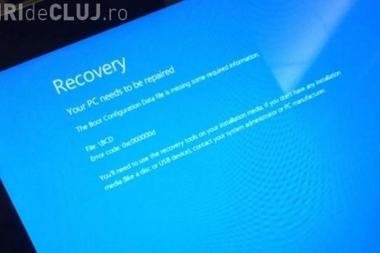 """Update pentru Windows 8.1 cu probleme. Utilizatorii reclamă apariția """"blue screen of death"""""""