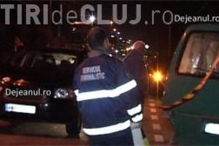 Accident în fața postului de Poliție de la Căieșu. O femeie a ajuns în spital VIDEO