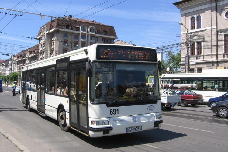 Troleibuzul 5 circulă de la Gară Cluj la Aeroportul Internațional, în regim expres. VEZI TRASEUL