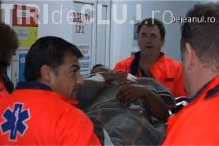 Un clujean a ajuns la spital după ce a fost înjungiat de propriul frate VIDEO