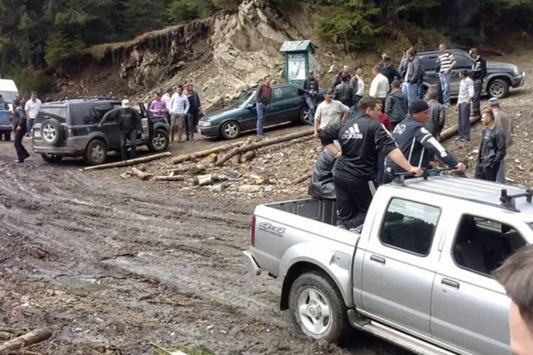 Inspectorii silvici din Cluj amenințați cu moartea de MAFIA lemnului din Mărișel