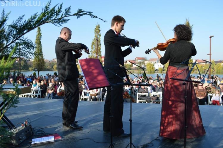 Peste 2.500 de clujeni au participat la inaugurarea Iulius Parc - FOTO