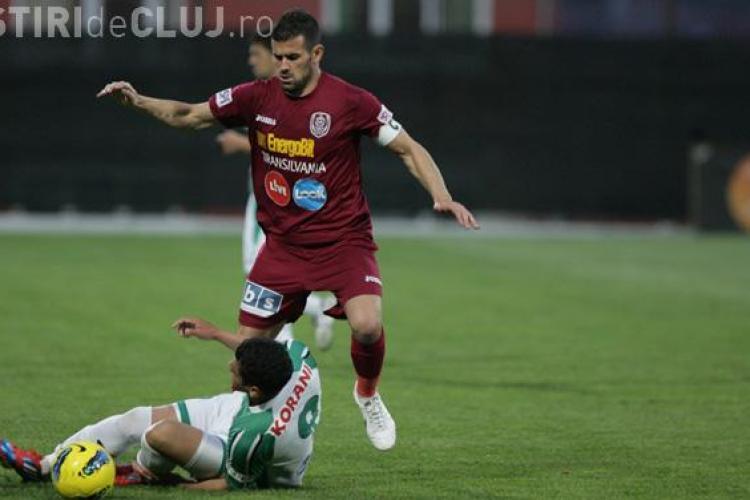 Concordia - CFR 0-0 - REZUMAT VIDEO. Clujenii pierd puncte cu o echipă net inferioară