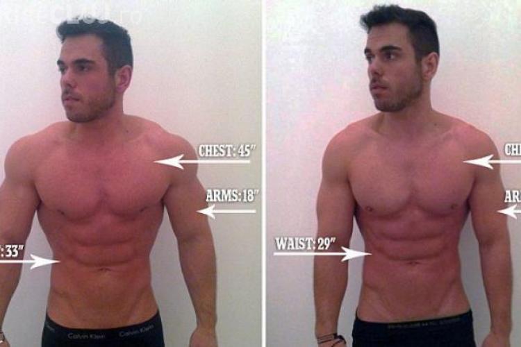 Un sportiv a slăbit 12 kilograme în 24 de ore! Cum a fost POSIBIL