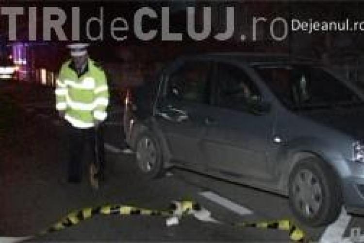 O bătrână a fost lovită de mașină pe DN1C. Traversa strada fără să se asigure VIDEO