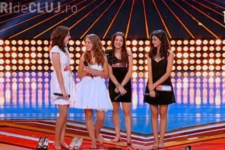 Trupa Quattro din Cluj la X Factor - VIDEO. Cum vi s-au părut?