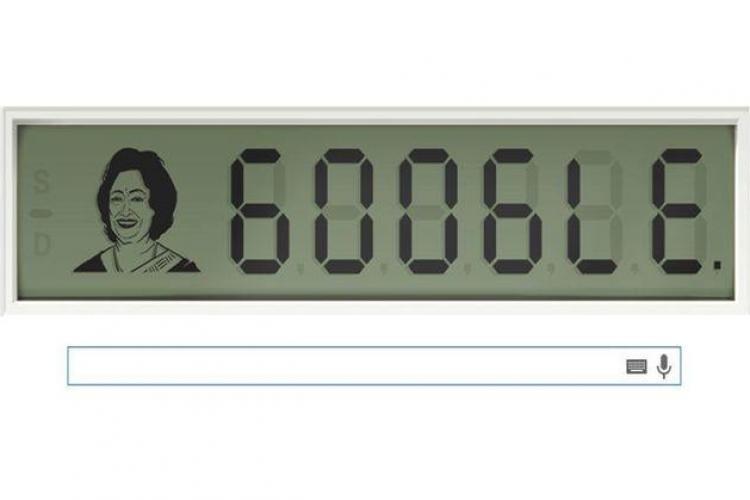 """SHAKUNTALA DEVI, omagiată de Google Doodle. Care este povestea """"calculatorului uman""""?"""