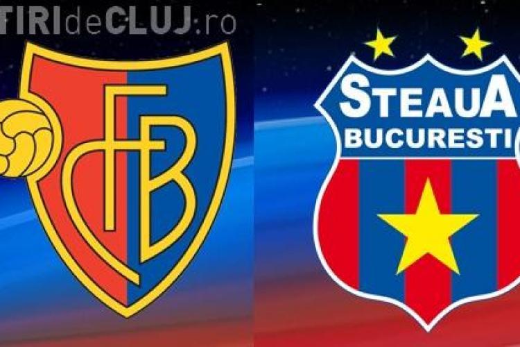 Basel - Steaua 1-1 REZUMAT VIDEO - Românii au pierdut victoria pe final. Gigi a înnebunit!