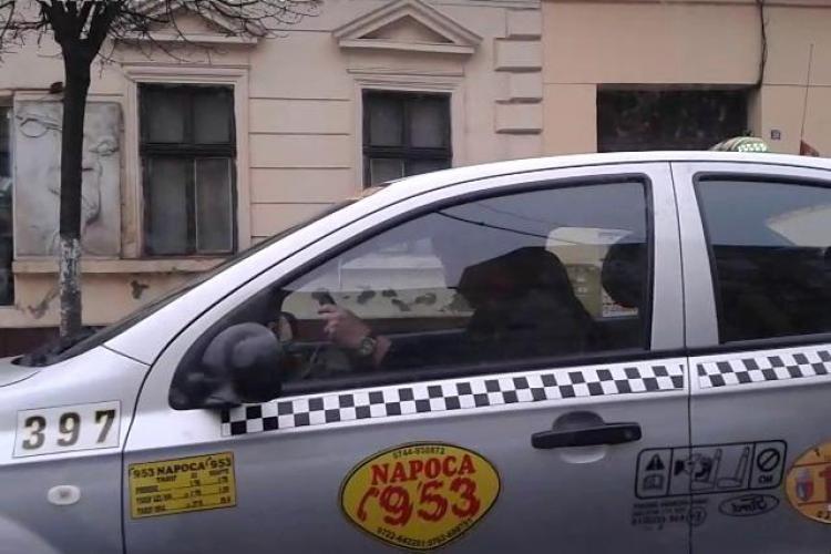 Medic clujean, TERORIZAT în trafic de un taximetrist de la firma Napoca, care voia să-l RUPĂ în BĂTAIE - VIDEO și FOTO cu taximetristul agresiv