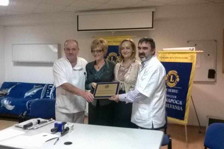 Spitalul Clinic de Pediatrie din Cluj-Napoca a primit aparatură modernă în valoare de 15.000 de euro