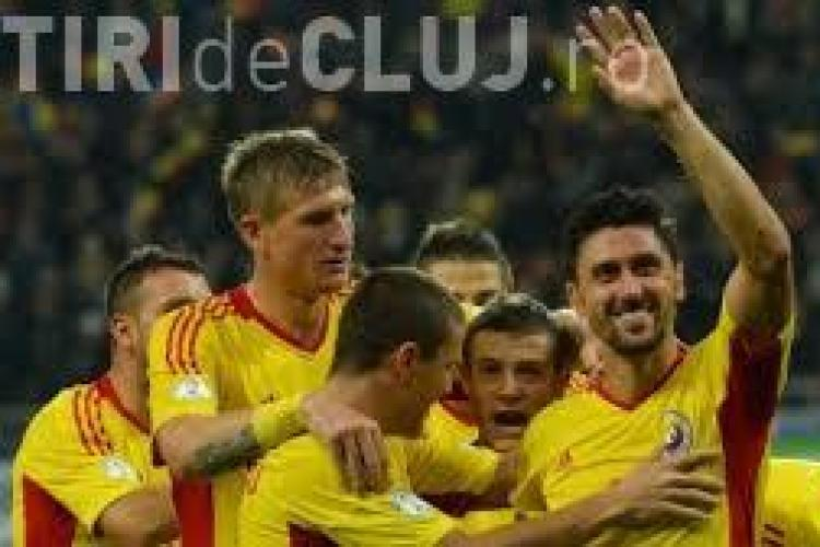 Meciul România - Grecia, transmis pe un ECRAN GIGANT în centrul Clujului