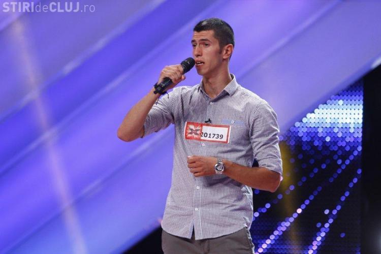 """Jandarmul cu """"voce de aur"""" respins la X Factor: """"Ieși afară"""" VIDEO"""