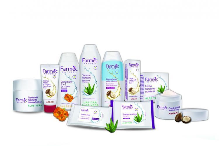 Gama Farmec Natural e câștigătoarea premiului Piața pentru cel maii bun produs de îngrijire personală(P)