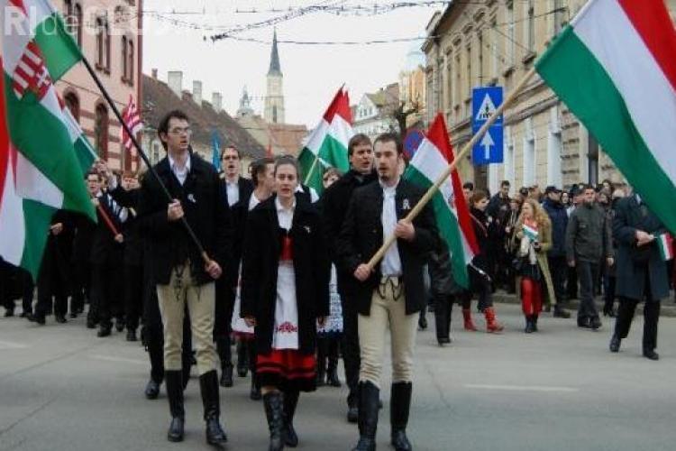 Cluj: Ungurii nu se vor lăsa până când nu vor obține autonomia Ţinutului Secuiesc
