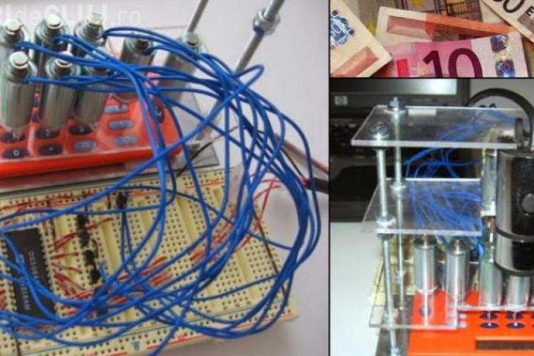 Un român a inventat mașina de făcut bani. Sustrage legal zeci de mii de euro din bănci