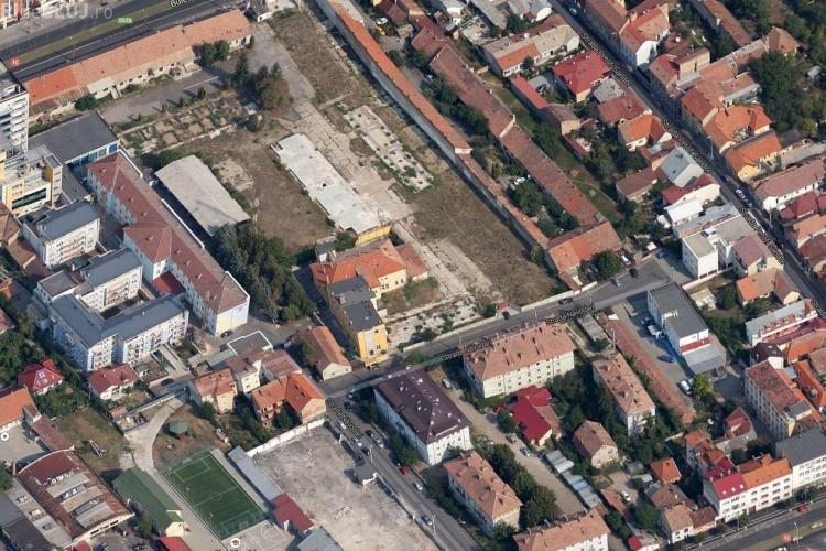Stradă nouă între Bulevardul 21 Decembrie 1989 şi Dorobanţilor. Va apărea și piață TRANSILVANIA exclusiv PIETONALĂ