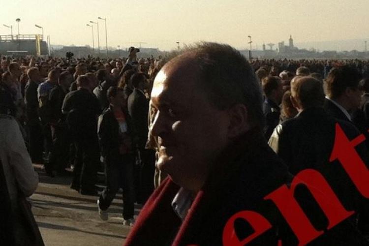 Întâlnire de taină pe Aeroportul din Cluj. Rareș Criste, bănuit în dosarul MITĂ la Hidroelectrica, s-a întâlnit cu şeful unui SERVICIU SECRET