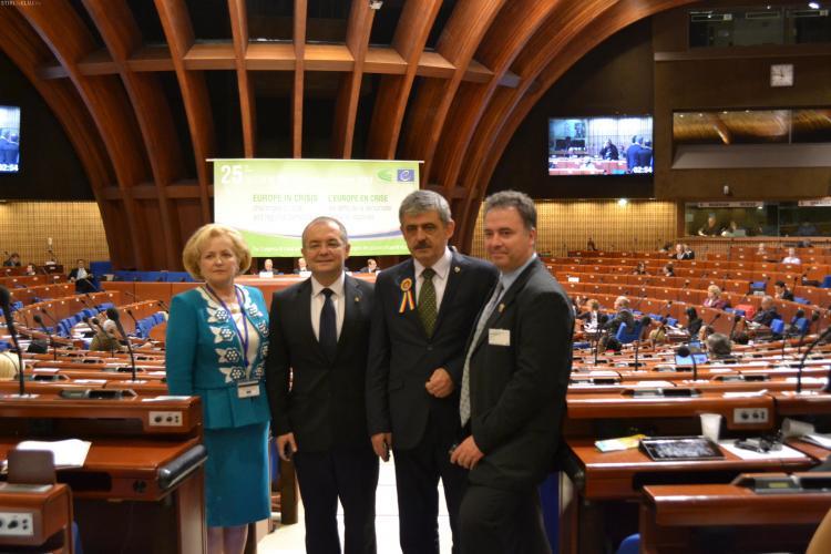 Clujul a fost vedetă la Strasbourg, la Congresul puterilor locale şi regionale