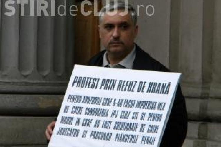 Un polițist din Cluj cere să fie EUTANASIAT de Ziua Națională a României, în Piața Unirii
