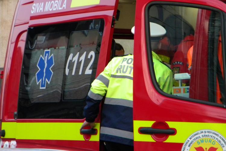 Accident pe strada Republicii! Un șofer din Maramureș a intrat într-o mașină parcată