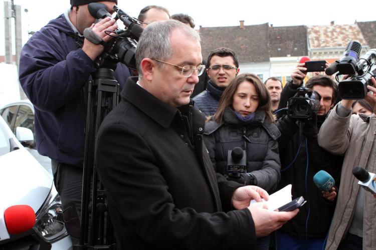 """Boc: Clujul va deveni un """"smart city"""", cu plata biletelor de autobuz şi a taxelor prin SMS"""
