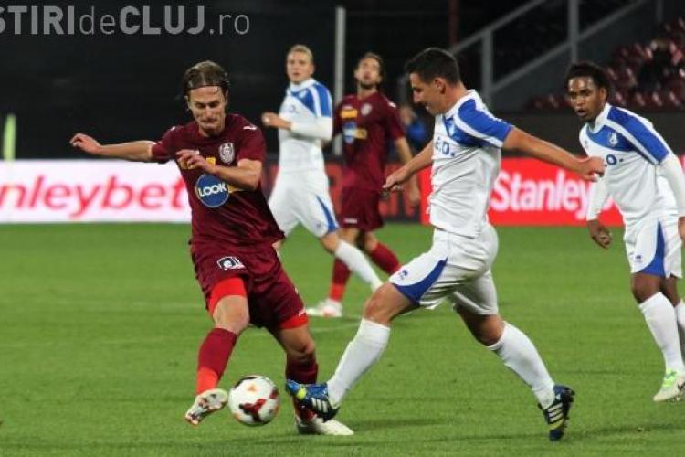 Braşov - CFR Cluj 0-0! REZUMAT VIDEO - Jucătorii lui Paszkany nu mai sperie pe nimeni