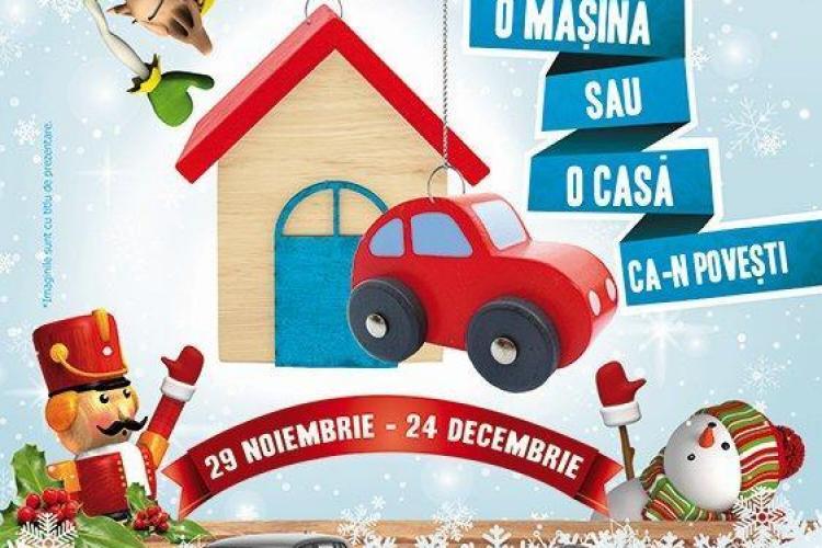 Apartament cu două camere și Volkswagen Tiguan, marile premii de Crăciun de la Iulius Mall. Vezi cum poți câștiga(P)