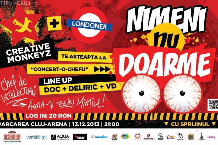 Petrecere BOMBĂ cu RObotzi în parcarea subterană a Cluj Arena - FOTO