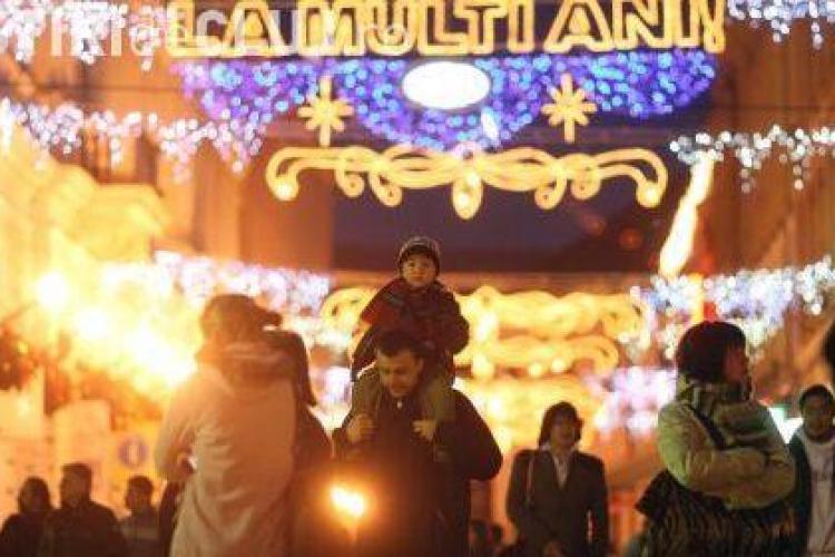 PROGRAM - Târgul de Crăciun din Cluj-Napoca începe în 2 decembrie. Se deschide PATINOARUL