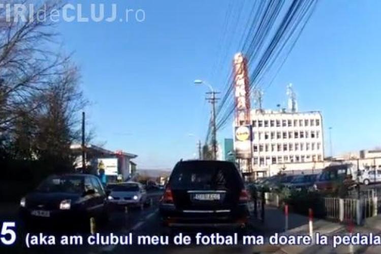 Clujul plin de șoferi indisciplinați. Paszkany se află printre ei - VIDEO