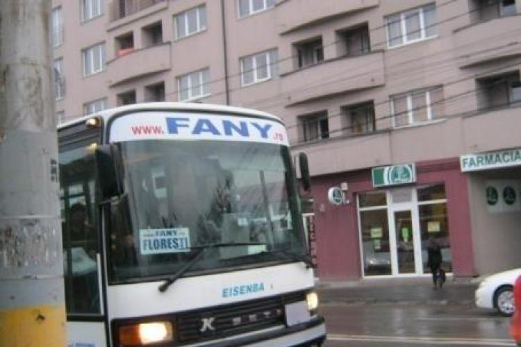 Fany a reușit să învingă în instanță RATUC în lupta pentru transportul public din Florești