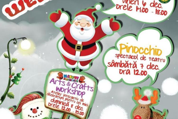 Week-end pentru copii la Iulius Mall Cluj